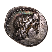 Ancient Greek Silver Triobol 132 BC Patrae, Achaia VF-20