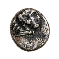Ancient Greek Diobol 284 BC Pergamon, Mysia VF-20