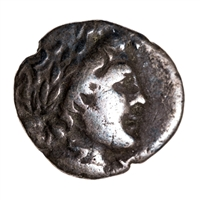 Ancient Greek Silver Drachm 168 BC Masikytes, Lycia F-15