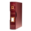 Uni-Safe 4-Ring Binder with Slipcase (Burgundy)