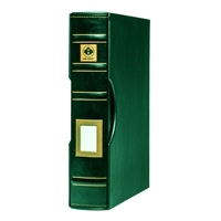Uni-Safe 4-Ring Binder with Slipcase (Green)