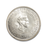 Luxembourg 250 Francs 1963 Charlotte Millennium of Luxembourg City MS-60