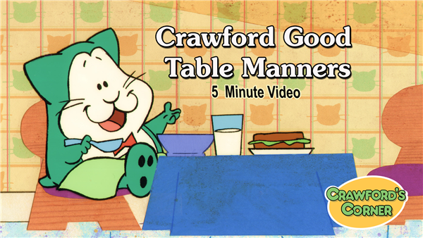 Video Download - Good Table Manners