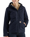 Carhartt Brand Women's FR Full Swing Quick Duck Jacket/Sherpa Lined