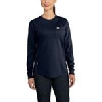 Carhartt Brand Women's Long Sleeve Force T-Shirt