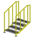 "ErectaStep Portable Platform OSHA - 28"" Stair"