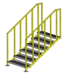 "ErectaStep Portable Platform OSHA - 42"" Stair"