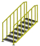 "ErectaStep Portable Platform OSHA - 49"" Stair"