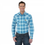 Wrangler Brand FR Lightweight Plaid Shirt