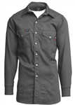 Lapco Brand FR Snap Front Western Work Shirt