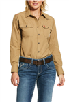 National Safety Apparel Brand Women's UltraSoft Work Shirt