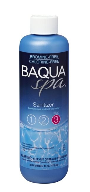Baqua Spa Sanitizer w/ Stain and Scale Control