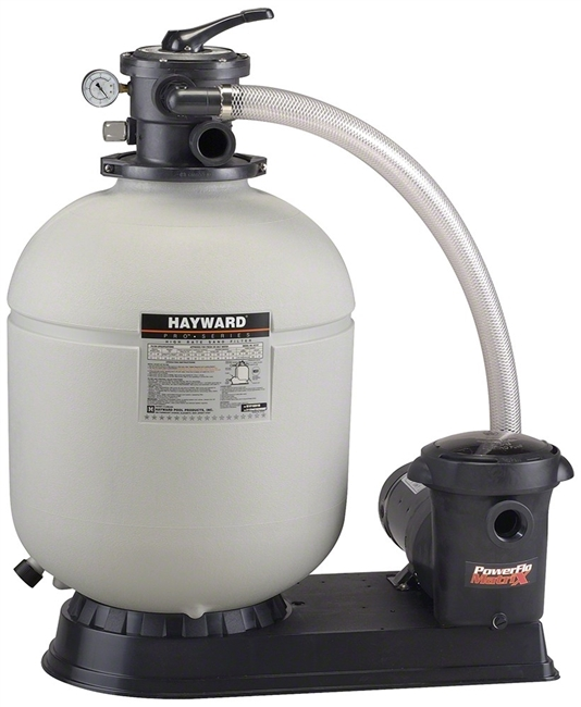 Above Ground Top Mount Sand Filter and Pump Combo