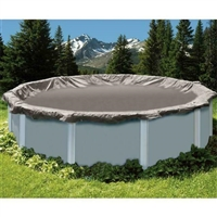 Swimline Round Silver King Winter Cover