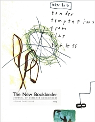 The New Bookbinder - Volume 39 - 2019