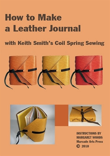 How To Make Your Bedroom Seem Larger Through Furniture: How To Make A Leather Journal With Keith Smith's Coil