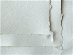 Hand Made Paper - Laid White - 100gsm