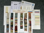Sundry Sample Cards and Swatches