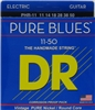 Pure Blues Pure Nickel Electric Guitar Strings 11-50 Heavy