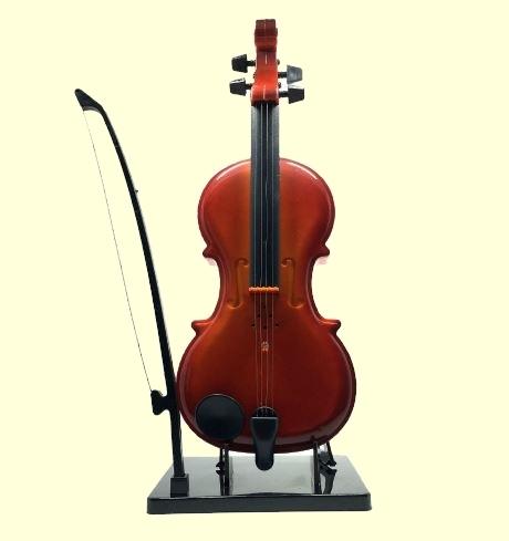 Plastic Violin Sound Effect Music Box Six Pieces Artist Set