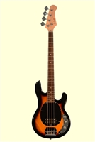 Glen Burton Electric Rock Bass SB 4 String Solid Body Bass Guitar