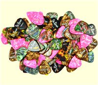 De Rosa AP150 Colorful Celluloid Guitar Picks
