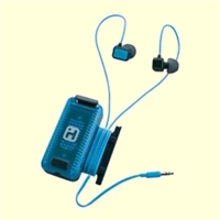Fitness Earbuds Black Blue