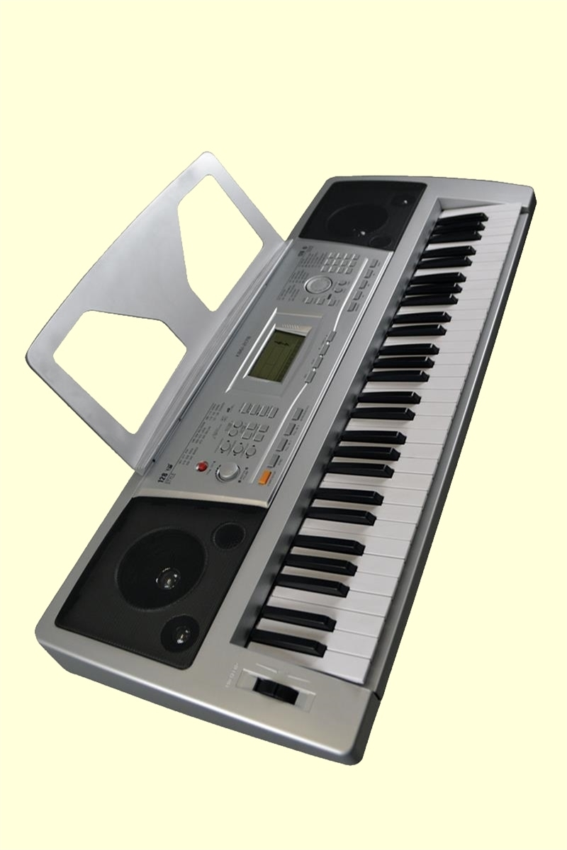 keyboard 61 full size keys multifunctional lcd dysplay electric piano. Black Bedroom Furniture Sets. Home Design Ideas