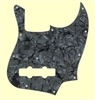 Dark Black Pearloid Pickguard for Jazz Bass®