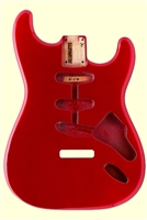 Candy Apple Red Finished Replacement Body for Stratocaster®