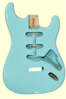 Sonic Blue Finished Replacement Body for Stratocaster®
