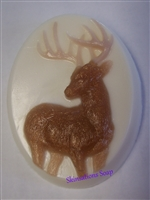 10 Point Buck glycerin soap