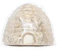 Herbal scented bee skep shaped glycerin soap