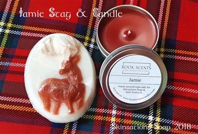 Jamie soap & candle