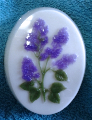 Lilacs in Bloom glycerin soap