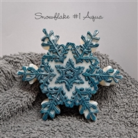 Snowflake Decorative Glycerin Soap