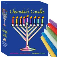 0080-R- Chanukah Candles