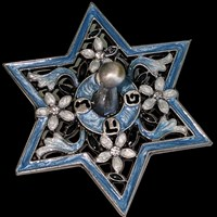 1123- Dreidel, Jeweled