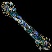 1229- Mezuzah Case, jeweled, medium