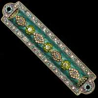 1262- Mezuzah Case, jeweled, medium