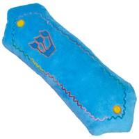 "0141-B- Plush Mezuzah, 10"" Blue"