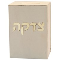 0482-B- Paint your own Tzedakah  Box  (Tzedaka)