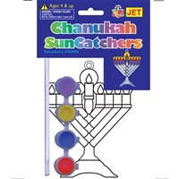 0482-M- Suncatchers - Menorah