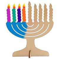 0528- Paint your own Menorah  (Bulk)