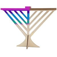 0540- Paint your own Rambam Menorah