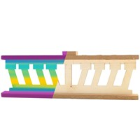 0542- Paint your own Wooden Menorah