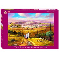 0674- 1000 pc puzzle, Road to Yerushalayim
