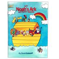 0904- Noah's Ark Mini Activity Book