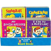 0939- Assorted Board Books Display (w/Chanukah)
