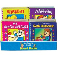 0939-R- Assorted Board Books Display (w/Rosh Hashana)